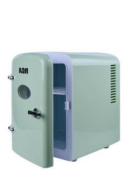 RCA Mini Beverage Refrigerator Fridge 6-Can Mint Green Home