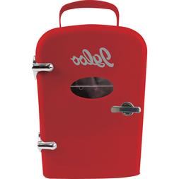 Igloo Mini Compact Refrigerator and Warmer Retro Red