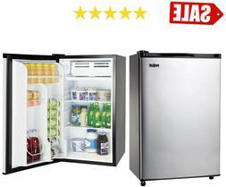 Mini Fridge Refrigerator 3.2 Cu Ft Single Door w Freezer Sta