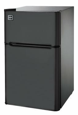 Mini Refrigerator, 3.2 Cu Ft Two Door Mini Fridge with Freez