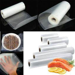 Multi Size Clear Vacuum Sealer Bags Rolls Food Saver Seal St