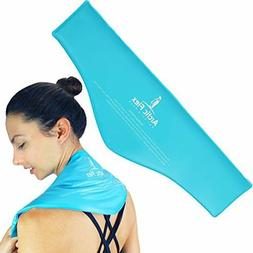 Neck Ice Pack by Arctic Flex - Cold Compress Therapy Wrap -