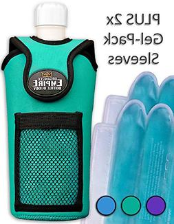 Organized Empire Insulated Water Bottle Holder with Shoulder