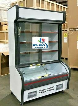 """NEW 47"""" Commercial Freezer Refrigerator Combo Merchandiser D"""