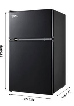 New Black 3.2 Cu Ft Mini Fridge Dorm Office Compact Refriger