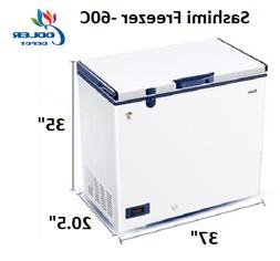 NEW Haier Commercial Deep Chest Freezer -60°C Tuna Seafood