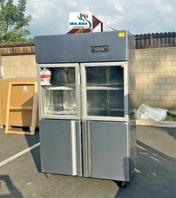 NEW Commercial Freezer Refrigerator Combo Model RG32 Restaur
