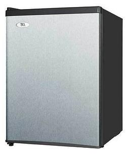 Sunpentown SPT 2.4 cu.ft. Compact Refrigerator in Stainless-