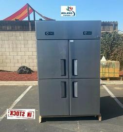 """NEW Four Door Commercial Freezer 48"""" x 29"""" x 75"""" Reach In 11"""