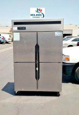 new four door commercial freezer 48 x