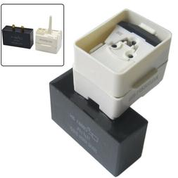 New Refrigerator Relay Overload Capacitor fits Whirlpool W10