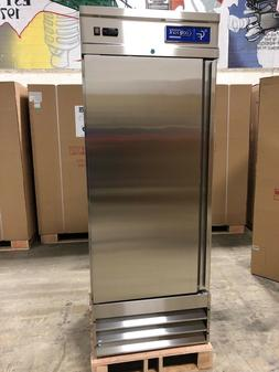 new single 1 door upright commercial stainless