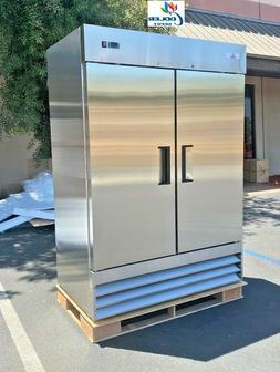 NEW Two Door FreezerCommercial Reach In Stainless Steel Fr