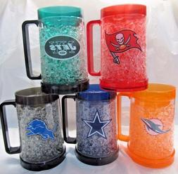 NFL Team Logo 16oz Freezer Mug Color Insert by The Memory Co
