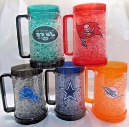 nfl team logo 16oz freezer mug color