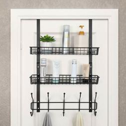 Over The Door/Freezer Storage Rack Kitchen Bathroom Coats To