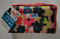 "Packit PK2 Freezable Foldable 8"" Lunch Bag Gel Lined Reusabl"