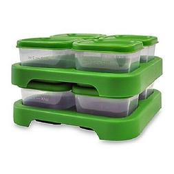 green sprouts Polypropylene, 8-2 oz Freezer Cubes, Green