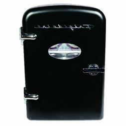 Frigidaire Portable Retro 6-can Mini Fridge EFMIS129, Black