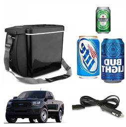 Portable12V Cooler Warmer Car Refrigerator Travel Electric F