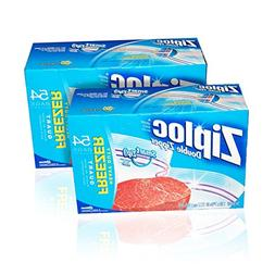 Ziploc Quart Freezer Bags - 108-Count