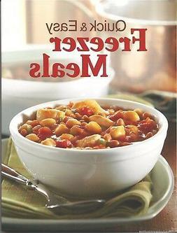 QUICK & EASY FREEZER MEALS New COOKBOOK Recipes FREEZE Simpl