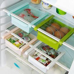 Rack Shelf Holder Slide Kitchen Fridge Freezer Space Saver O