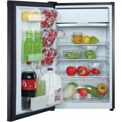 4.4Cubic-Ft. Refrigerator Black