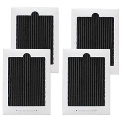 EFANTUR Refrigerator Air Filter 4 Pack Carbon-activated Frig