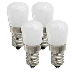 CTKcom 2W LED Refrigerator Bulb,COB LED Bulbs- E14 European