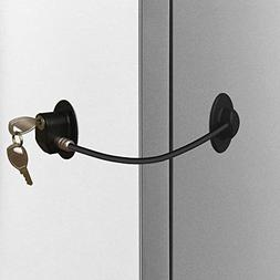 Alamic Refrigerator Door Lock - Freezer Door Lock Cabinet Lo