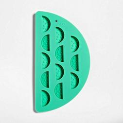 silicone green novelty watermelon fruit ice cube