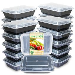 single 1 compartment meal prep