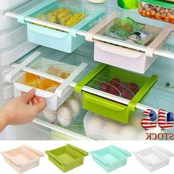 Slide Kitchen Fridge Freezer Space Save Organizer Storage Ra