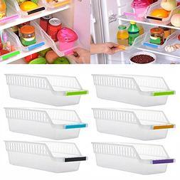 Slide Shelf for Kitchen,Sikye Refrigerator or Freezer Food S