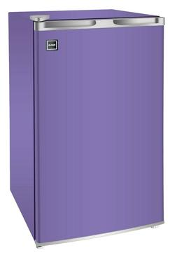MINI FRIDGE Purple 3.2 Cu Ft Girls Dorm Compact Freezer Can