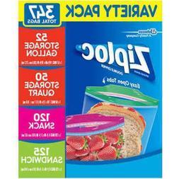 Ziploc Snack & Sandwich Bags Storage Bags Quart & Gallon Zip