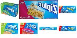 Ziploc Snack, Storage, Sandwich, Freezer, Quart Assorted Bag