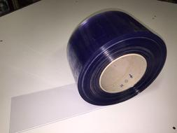 "Strip Curtain 8"" Wide x 50' Roll Cooler / Freezer PVC USDA N"