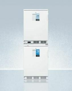 Summit 24'' Wide All-Refrigerator/All-Freezer Combination in