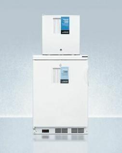 Summit 24'' Wide All-Refrigerator/All-Freezer Combination, W