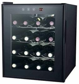Sunpentown SPT 16-bottle Thermo-Electric Wine Cooler w/Heati