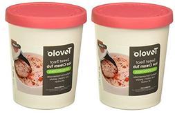 Tovolo Sweet Treats Tub - Raspberry