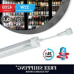 T8 5ft LED Cooler / Freezer tube V Shape 32w 5000k clear 420