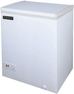 Thomson Chest Freezer  White Frozen Food Storage Deep Stand