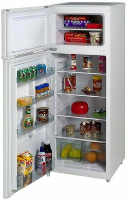 Two Door Apartment Size Refrigerator Kitchen Food Cooling Un