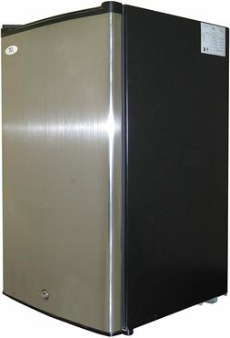 SPT UF-304SS: 3.0 cu.ft. Upright Freezer in Stainless Steel