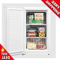Upright Freezer 3 Cu. Ft. Compact 3 Shelves Energy Star Food