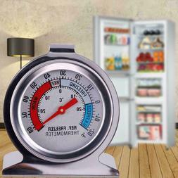 US Fridge Freezer Thermometer Hanging Refrigerator Gauge Hom