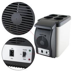 US Handheld 6L Car Refrigerator Fridge Cooler Warmer Freezer